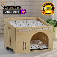 Cat house - Rumah kucing premium, elegan dan minimalis