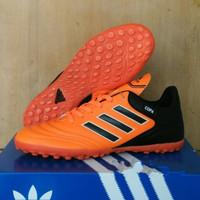 Sepatu Futsal Adidas Copa Gerigi Komponen Ori - orange hitam, 39
