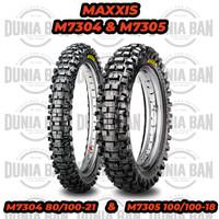 PAKET SEPASANG BAN TRAIL MAXXIS M7304 & M7305 / 80/100-21 & 100/100-18