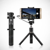 HUAWEI Tripod Selfie Stick Tongsis Audio Jack 3.5mm AF14 RESMI