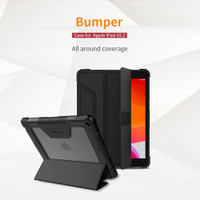 Case Nillkin Bumper Cover iPad 8 10.2 2020 Flip Casing Pencil Holder