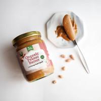 Tree Natura Organic Peanut Butter 225 gr (Selai Kacang Tanah Organik)