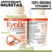Kyolic Garlic Extract 103 Immune (100) Vitamin C Astragalus Imunitas
