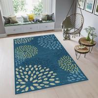 ARTSY - Karpet Living Room Anti Slip - 90 x 150 cm - Biru