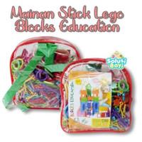 mainan edukasi block stick smart bar magic 1 set n.2022