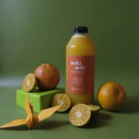 1 Liter - Jeruk Peras Murni (Fresh Squeezed Orange Juice)