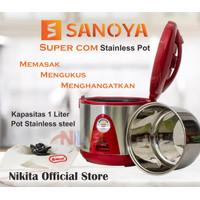 SUPER COM SANOYA STAINLESS POT   Rice Cooker Mini 1 Liter