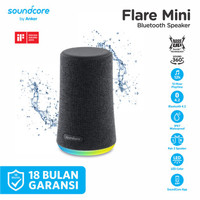 Speaker Bluetooth Soundcore Flare Mini Black - A3167