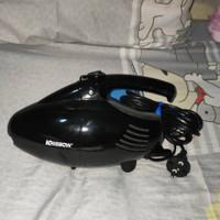 Krisbow Dry Vacuum Cleaner Turbo Black