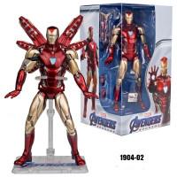 Avengers Endgame Marvel Superhero Iron Man MK85 Mark 85 Action Figure