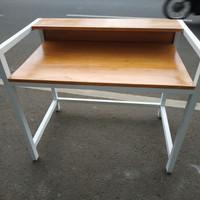 meja kerja / kantor jati belanda full kayu