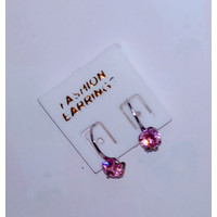 Anting Earing Daisy Desi Pink Stainless Monel Diamond Jewelry Pink