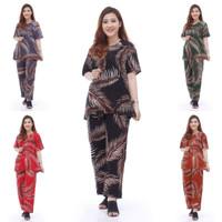 Setelan CP LEVINKA Setelan Batik Piyama Batik Baju Tidur Daster Cantik