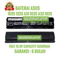 BATERAI ASUS 1025 1225 A31-1025 A32-1025 ORI HITAM