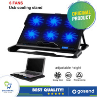 Cooling Pad Laptop 6 Fan - K6 Blower Kipas Angin laptop