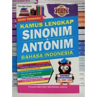 BEST SELLER KAMUS LENGKAP SINONIM & ANTONIM BAHASA INDONESIA - TRIE