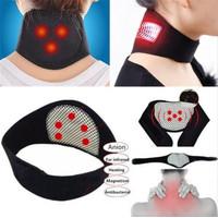 alat terapi sabuk pemanas penghangat leher bantal terapi karet usb