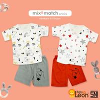 Setelan Pendek Baju Celana Bayi SBJ-S11 Baju Setelan Pendek Baju Bayi
