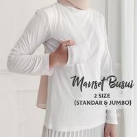 Manset Busui Kaos Rayon Premium Fit to XL Jumbo Inner Baju Busui Adem