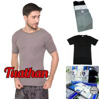 Kaos Dalam Oblong lengan pendek T-Shirt Pria Dewasa Oscar Club - Putih, M