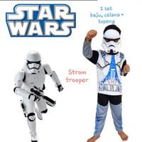 Baju Kostum Topeng (Anak) - Star War Storm Trooper