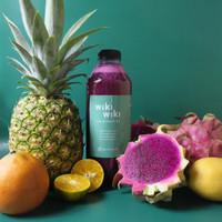 1 Liter Juice - Wiki Bomb - Jus Buah Naga, Nanas, Orange, & Lemon