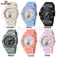 Digitec DG-4095T - Jam Tangan Wanita - Double Time - 4095 - Original