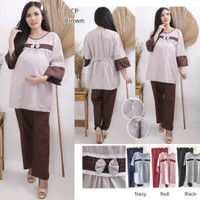 IoriFash/Setelan baju hamil/pakaian wanita/dress hamil/ST01-all size
