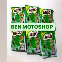 Milo 3 in 1 - 1 Renceng 10 Sachet 35g 35gr 35 g gr - Susu 3in1 Bubuk
