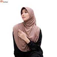 Nisrina Fashion Muslim Bergo Instan Basic Alma