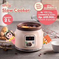 (KHUSUS GOSEND) Emily - Slow Cooker 2Litre
