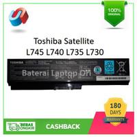 BATRE BATERAI LAPTOP TOSHIBA L745 L735 L635 L645 PA3817 ORIGINAL