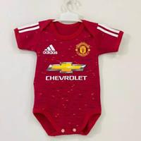Jumper Pakaian Bayi MU United Home Jersey Bola Baju Bayi Lucu
