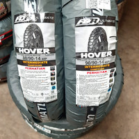 BAN FDR HOVER 1SET DEPAN BLKG 80/90-14+90/90-14 TUBELESS