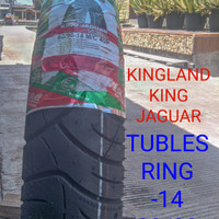 BAN LUAR TUBLES KINGLAND DEPAN 80/90-14 MOTOR METIC FREE PANTIL DOP
