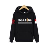 SWEATER FREE FIRE ANAK NAVY UMUR 7-11 TAHUN RY - Hitam