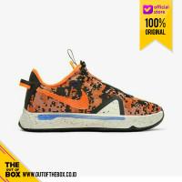 Sepatu Basket Pria NIke PG 4 Orange Digi Camo CD5082-200