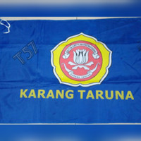 bendera karang taruna 60x90cm bahan Abutai/Bendera karang taruna new