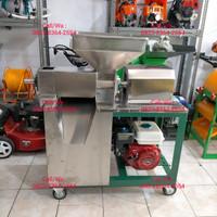 Mesin peras santan kelapa/mesin press santan stainless 22 siap pakai