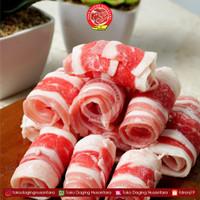 Daging Sapi Shabu-Shabu - USA Beef Short Plate Slice 500gram