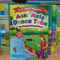Buku Cerita Rakyat Asal Mula Danau Toba dan Dongeng Terkenal Lainnya