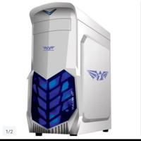 ARMAGEDDON VULCAN V1X WHITE GAMING CASE NON PSU