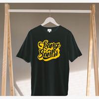 Black Beard Kaos Distro Soft CottonCombat 30s/T-Shirt Pria/Kang Santri