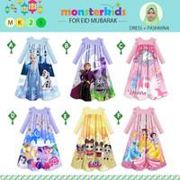 RestoooGamis Anak / Baju Muslim Anak Princess - MonsterKids