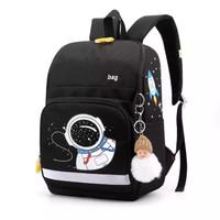 tas astronot anak laki perempuan / tas sekolah anak / tas ransel anak