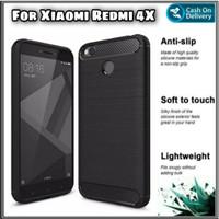 Soft Case Redmi 4X Casing BackCase Hp Cover Xiaomi Redmi 4 X - Hitam