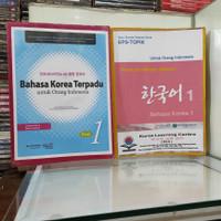Bahasa Korea Terpadu utk Orang Indo & Panduan Belajar Mandiri Bhs Kore