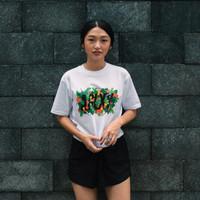 Ageless Galaxy x SaladStop! T-Shirt - White Short Sleeve