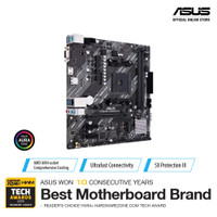 ASUS PRIME A520M-K Motherboard (DDR4, A520, AMD AM4)