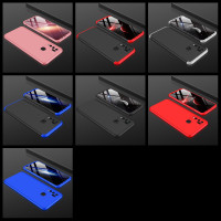 VIVO Y50 GKK ORIGINAL 360 FULL PROTECTION ARMOR CASE - Hitam